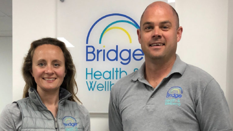 Flying the flag for Dorset Business: Bridge Health & Wellbeing shortlisted in Family Business of the Year awards