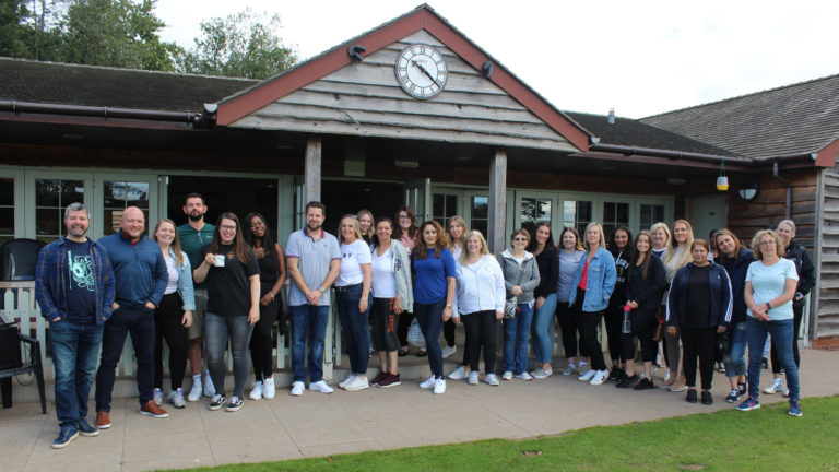 Fun and fundraising at Paycare's team day out