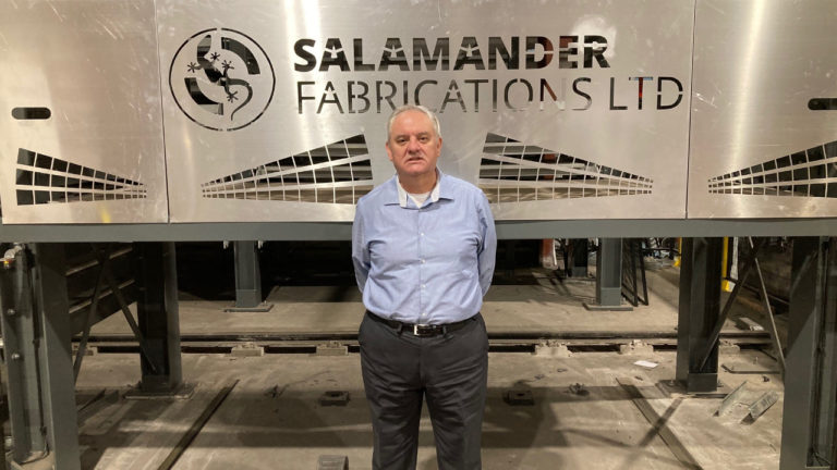Salamander Fabrications welcomes accomplished rail specialist