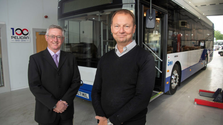 Record year for Yorkshire-based zero emission passenger vehicle specialist Pelican as revenue tops £43m