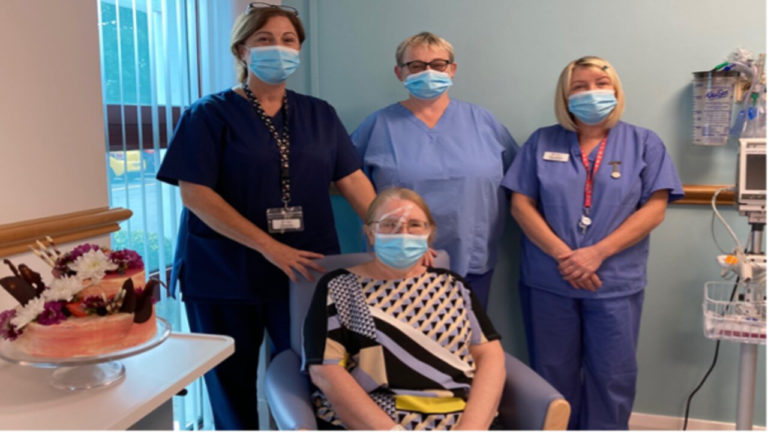 1,000th patient receives treatment at the brand new £3mDay Surgery Unit