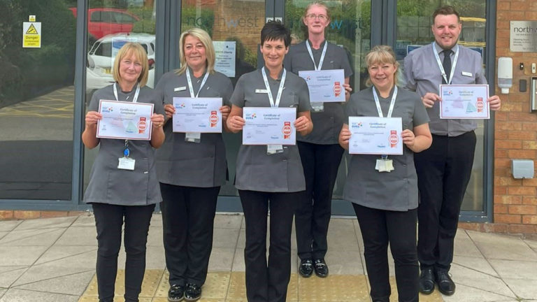 Runcorn veterinary receptionists are going for gold after BVRA award success