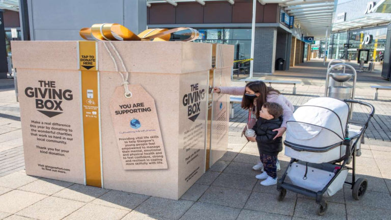 Glasgow Fort continues support for local charity