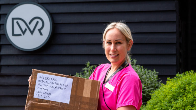 Kind-hearted staff at Cambridge vet hospital donate much-needed medical aid to Africa