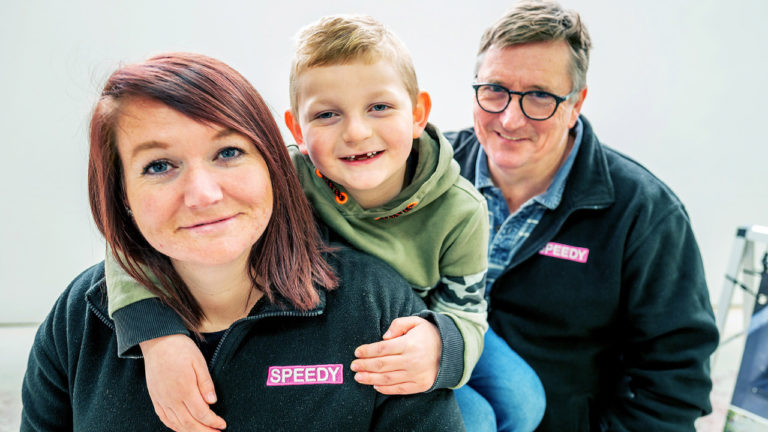 Father and daughter team open their first showroom in Horsham