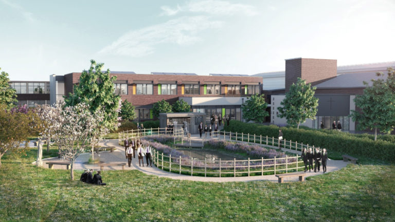 Constructing sustainable school buildings with a green heart