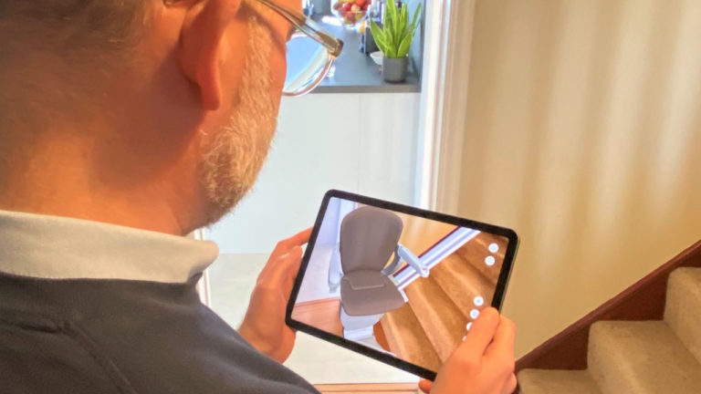 Augmented Reality helps Stannah bring virtual stairlifts to homes across the world