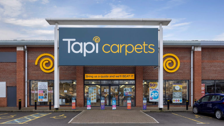 Widd Signs appointed by Tapi Carpets to deliver branded signage for new stores