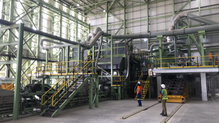 Northern engineering firm supports creation of world-first 'clean' antimony and gold processing plant