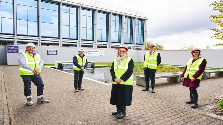 The Manchester College tops out at Openshaw Campus