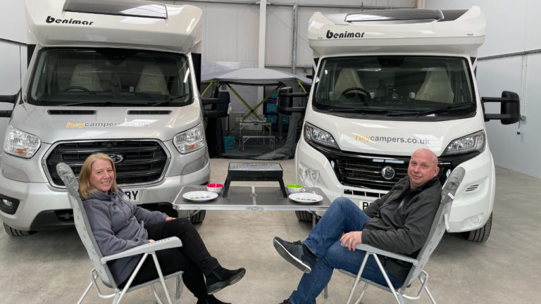 Leicestershire-based business Hey Campers debuts on Channel 5's Million Pound Motorhomes