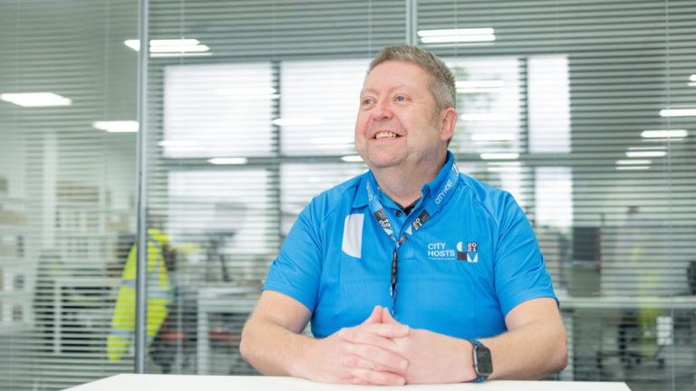 UK Flooring Direct account manager signs up to serve the city he loves
