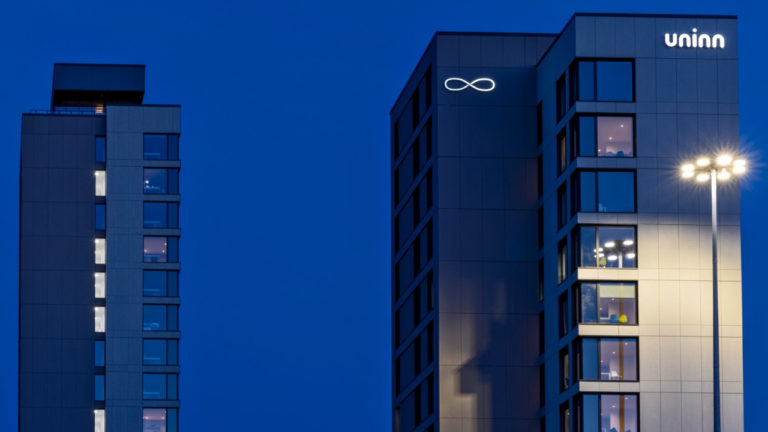 Widd Signs reaches new heights with student accommodation project