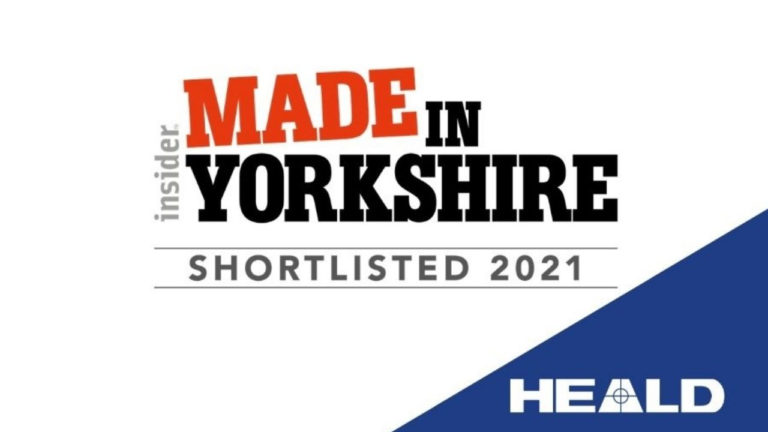 Heald shortlisted at Insider Made in Yorkshire Awards 2021