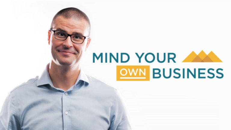 Free business growth web series: Mind Your Own Business by Marco Soares