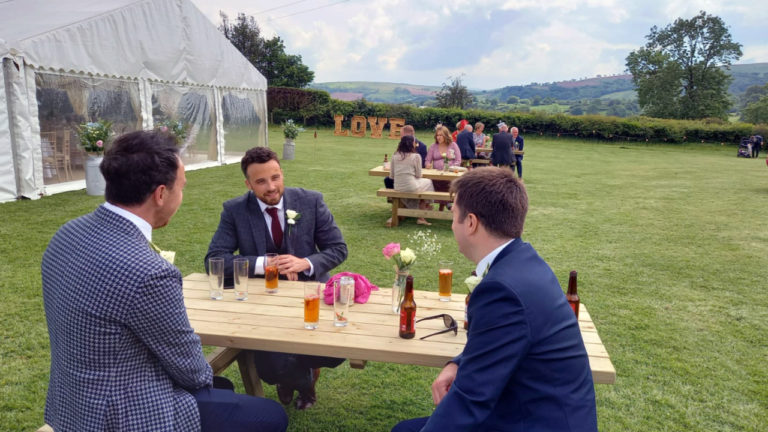 Better connectivity helps South Wales couple tie the knot while under pandemic restrictions