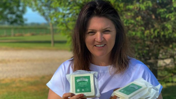 Caroline Bell, MD, Shepherds Purse with the new format Fettle cheese