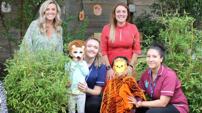 North West children stomp for Chester Zoo