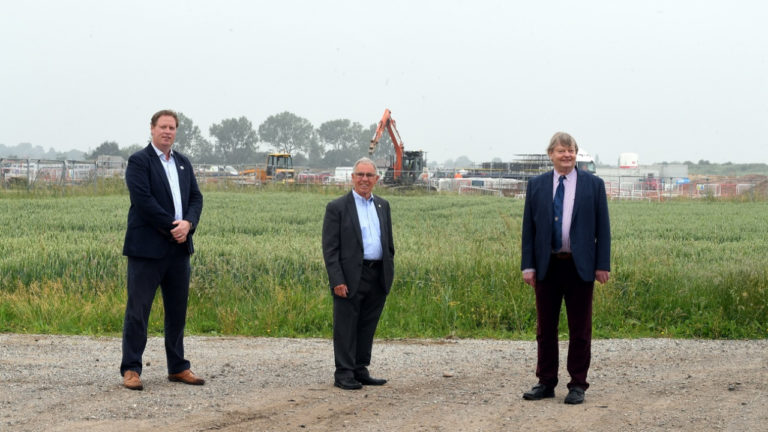 Building of a 'garden village' and the creation of a 'super' district council will help drive significant economic growth in south Warwickshire