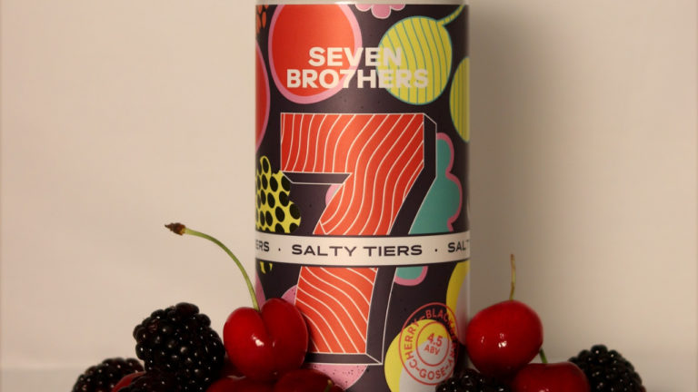 The pink pint… Seven Bro7hers wipes our tiers as it welcomes its first gose beer to the family fold