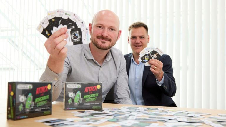 Rotherham boardgame creator launches first product at UK Games Expo
