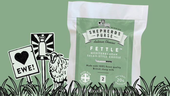 Cheesemaker fights to help sheep milk farmers with fast track product relaunch